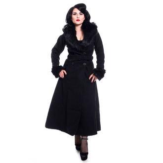 kabát dámsky Rockabella - BIANCA - BLACK, ROCKABELLA
