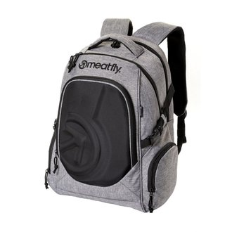 batoh MEATFLY - BLACKBIRD 2 - A - Heather Grey / Black, MEATFLY