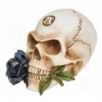 dekorácia ALCHEMY GOTHIC - Alchemist Skull with Rose, ALCHEMY GOTHIC