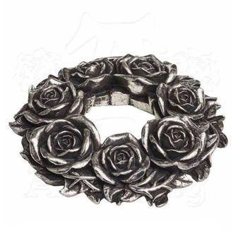 svietnik (dekorácia) ALCHEMY GOTHIC - Black Rose, ALCHEMY GOTHIC