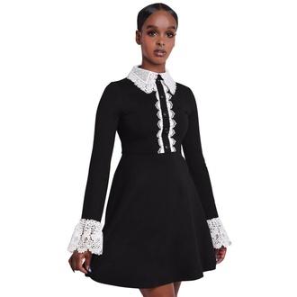 šaty dámske KILLSTAR - Blessed Be Shift - BLACK - KSRA001556
