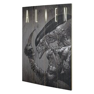 drevený obraz Alien - Vetřelec - (Head On Tail) - PYRAMID POSTERS, PYRAMID POSTERS, Alien - Vetřelec