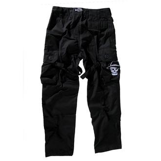 Nohavice  pánské BOOTS & BRACES - Pant Nightmare - Black, BOOTS & BRACES
