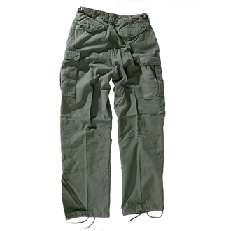 kalhoty pánské M65 Pant NYCO washed - OLIV, MMB
