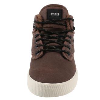 topánky pánske zimný GLOBE - Motley Mid - Dark Brown / Off White / Fur, GLOBE