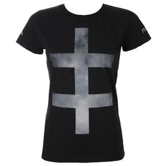 tričko dámske Marilyn Manson - SMOKEY CROSS - BLK - BRAVADO, BRAVADO, Marilyn Manson