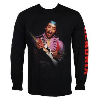 tričko pánske s dlhým rukávom Jimi Hendrix - AUTHENTIC WAIKIKI BLK - BRAVADO, BRAVADO, Jimi Hendrix