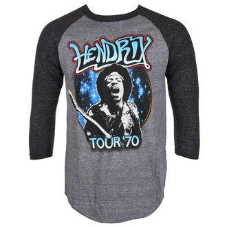 tričko pánske s 3/4 rukávom Jimi Hendrix - AUTHENTC 70 TOUR - BRAVADO, BRAVADO, Jimi Hendrix