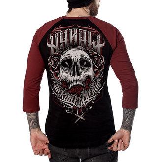 tričko pánske s 3/4 rukávom HYRAW - FUCKING HOSTILE, HYRAW