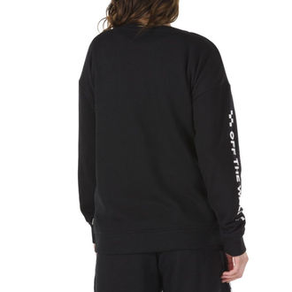 mikina dámska VANS - WM TOO MUCH FUN CREW - Black