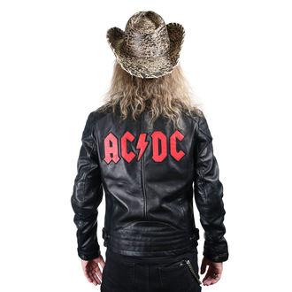 bunda pánska kožená AC/DC - LNTC BLACK, NNM, AC-DC