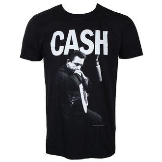 tričko pánske JOHNNY CASH - STUDIO - BLACK - LIVE NATION, LIVE NATION, Johnny Cash