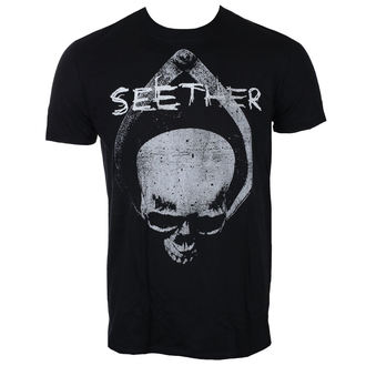 tričko pánske SEETHER - SKULL - BLACK - LIVE NATION, LIVE NATION, Seether
