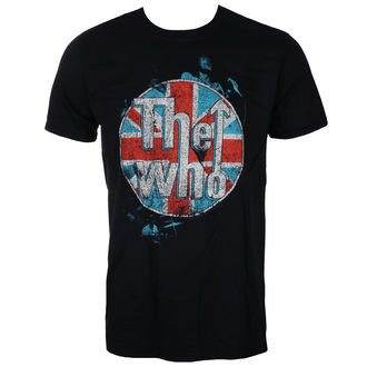 tričko pánske THE WHO - LOGO STANDING - BLACK - LIVE NATION, LIVE NATION, Who