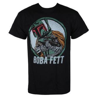 tričko pánske STAR WARS - BOBA FETT - BLACK - LIVE NATION, LIVE NATION, Star Wars