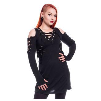 šaty dámske Poizen Industries - CRAVE - BLACK, POIZEN INDUSTRIES