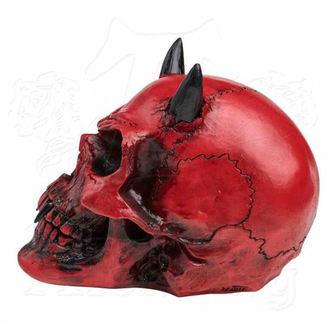 dekorácia ALCHEMY GOTHIC - Crimson Demon Skull, ALCHEMY GOTHIC
