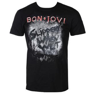 tričko pánske BON JOVI - SLIPPERY WHEN WET ALBUM - PLASTIC HEAD, PLASTIC HEAD, Bon Jovi