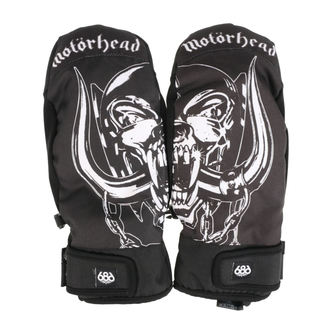 rukavice MOTÖRHEAD - Mountain Mitt - Black, 686, Motörhead