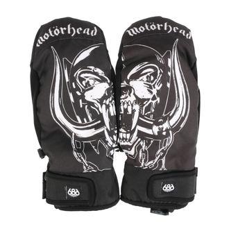 rukavice MOTÖRHEAD - Mountain Mitt - Black, NNM, Motörhead