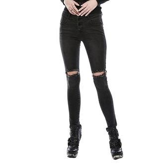 nohavice dámske (jeans) PUNK RAVE - washed out, PUNK RAVE