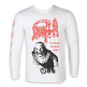 tričko pánske s dlhým rukávom DEATH - SCREAM BLOODY GORE - PLASTIC HEAD, PLASTIC HEAD, Death