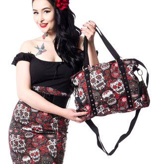 taška (kabelka) ROCKABELLA - MUERTE SKULL - BLACK, ROCKABELLA