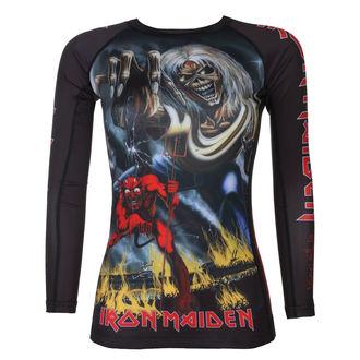 tričko dámske s dlhým rukávom (technickej) TATAMI - Iron Maiden - Number of the Beast - Rash Guard, TATAMI, Iron Maiden