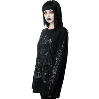 tričko dámske s dlhým rukávom KILLSTAR - Dark Prince - BLACK - KSRA001590