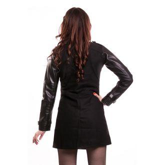 kabát dámsky VIXXSIN - DAY AFTER TOMORROW - BLACK - POI418
