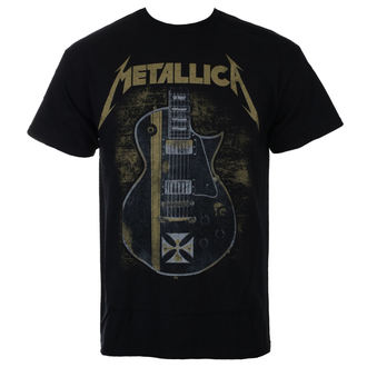 tričko pánske Metallica - Hetfield Iron Cross - Black -LIVE NATION- 0270