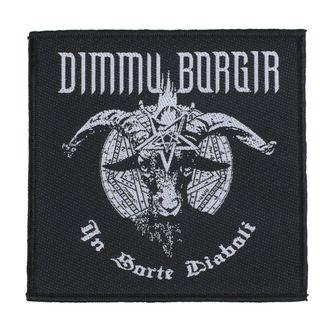 nášivka Dimmu Borgir - In Sorte Dlaboll - RAZAMATAZ, RAZAMATAZ, Dimmu Borgir