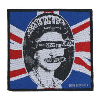 nášivka Sex Pistols - God Save The Queen - RAZAMATAZ, RAZAMATAZ, Sex Pistols