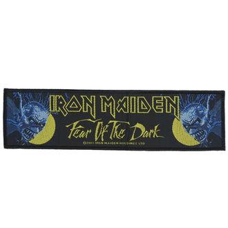 nášivka Iron Maiden - Fear 01 The Dark - RAZAMATAZ, RAZAMATAZ, Iron Maiden