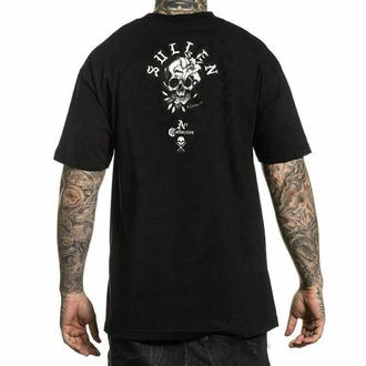tričko pánske SULLEN - DEATH FLOWER - BLACK, SULLEN