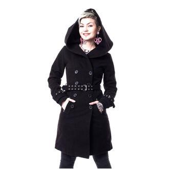 kabát dámsky VIXXSIN - DECAY - BLACK, VIXXSIN