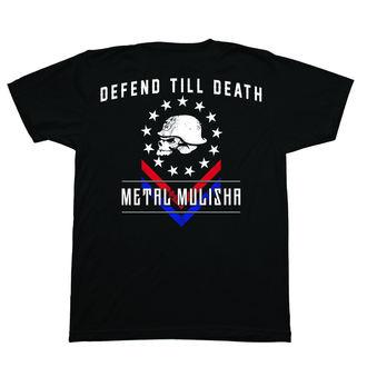 tričko pánske METAL MULISHA - DEFEND - BLK, METAL MULISHA