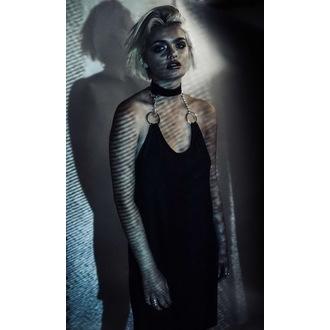 šaty dámske DISTURBIA - OMEGA HALTER