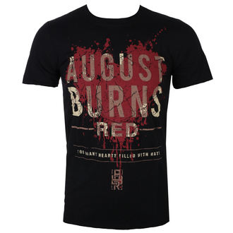 tričko pánske August Burns Red - Heart Filled - Blk - ROCK OFF, ROCK OFF, August Burns Red