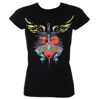 tričko dámske BON JOVI - HEART & DAGGER - PLASTIC HEAD, PLASTIC HEAD, Bon Jovi
