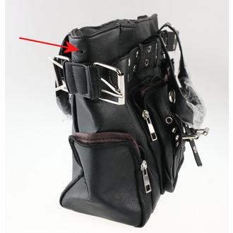 kabelka (taška) POIZEN INDUSTRIES - EVE - BLACK - POŠKODENÁ, POIZEN INDUSTRIES