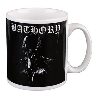 hrnček BATHORY - GOAT - White - PLASTIC HEAD, PLASTIC HEAD, Bathory