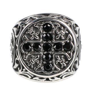 prsteň ETNOX - Crystal Cross, ETNOX