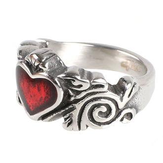 prsteň ETNOX - Black Heart, ETNOX