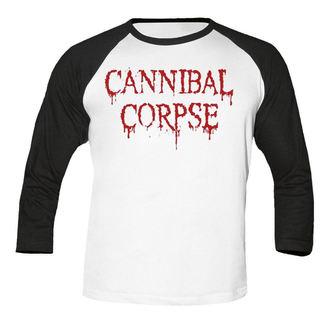 tričko pánske s 3/4 rukávom CANNIBAL CORPSE - Dripping logo BASEBALL - NUCLEAR BLAST, NUCLEAR BLAST, Cannibal Corpse
