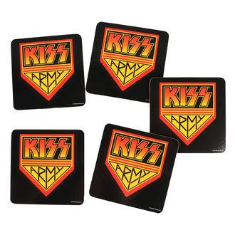podtácky KISS - ROCK OFF, ROCK OFF, Kiss