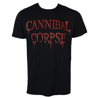 tričko pánske CANNIBAL CORPSE - DRIPPING LOGO - PLASTIC HEAD, PLASTIC HEAD, Cannibal Corpse