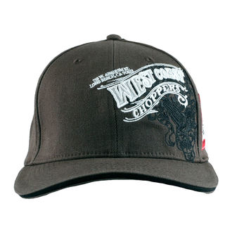 šiltovka West Coast Choppers - WINGS - Anthracite, West Coast Choppers