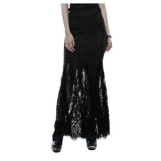 sukňa dámska PUNK RAVE - Opium - black, PUNK RAVE