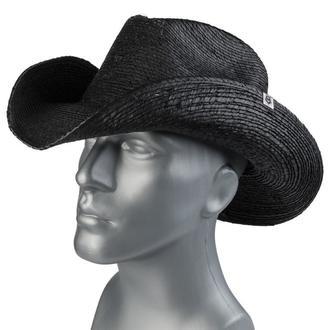 klobúk WORNSTAR - Hellrider - Black Rocker Cowboy, WORNSTAR